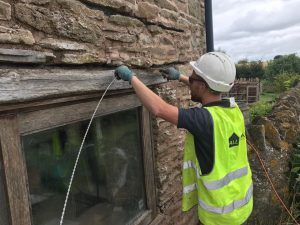 Structural Repairs, Stone Wall